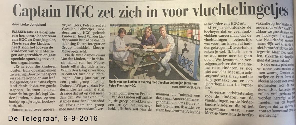 De Telegraaf, 8 september 2016